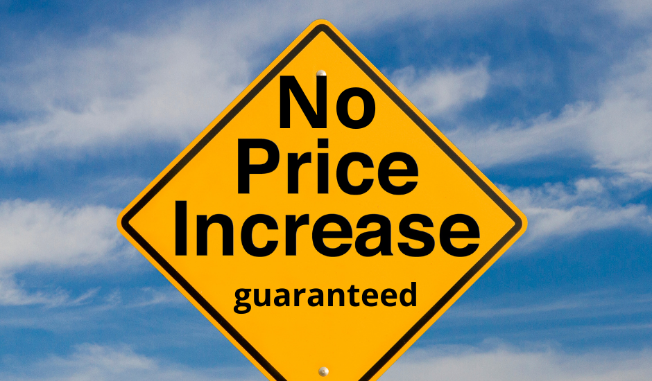 Our Price Promise – Guaranteed